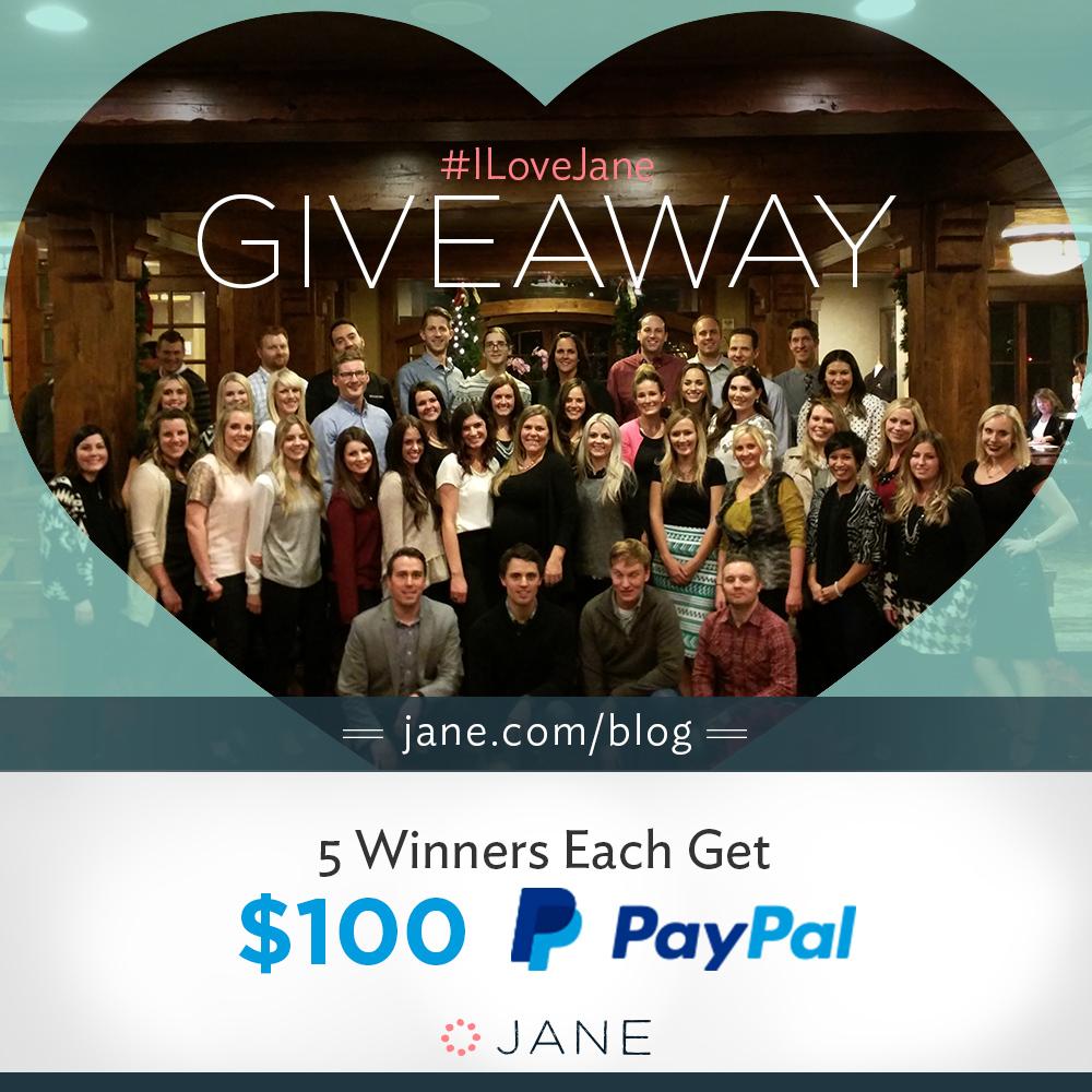 #ILoveJane Giveaway