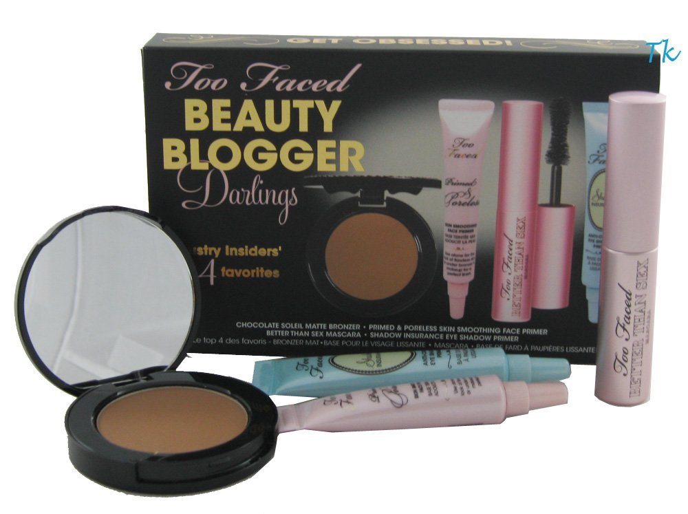2 Too Faced Beauty Blogger Darlings Sets ($104 value)