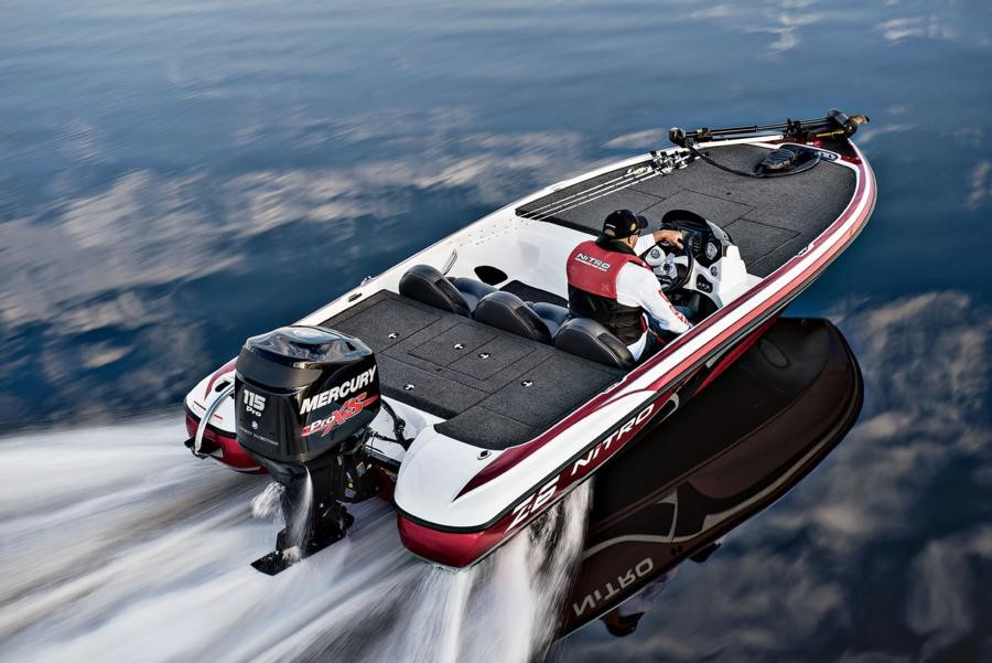 You could win a new Nitro® Z6 Bass Boat from Mann's Bait Company