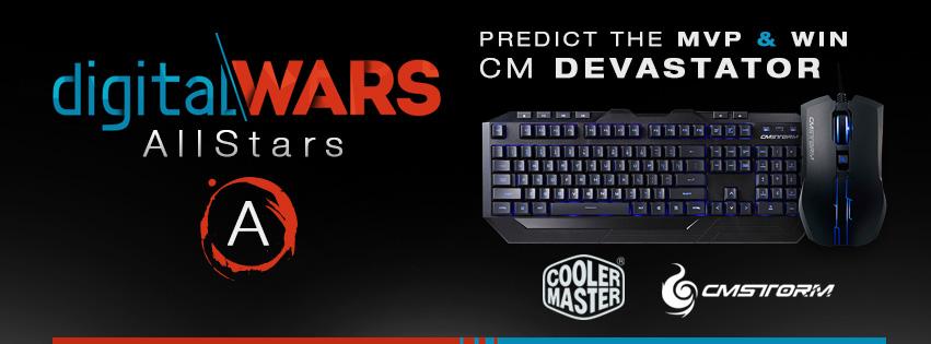 Predict DigitalWars AllStars MVP & Win a CM Devastator