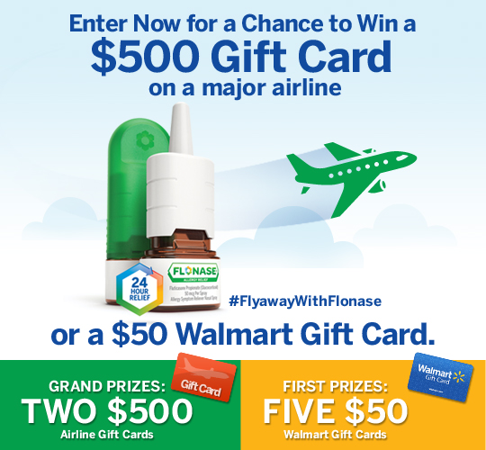 The Fly-Away With FLONASE® Allergy Relief Sweepstakes