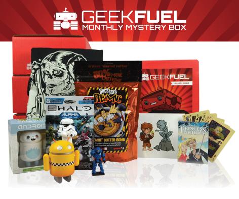 Win a Geek Fuel Mystery Box!