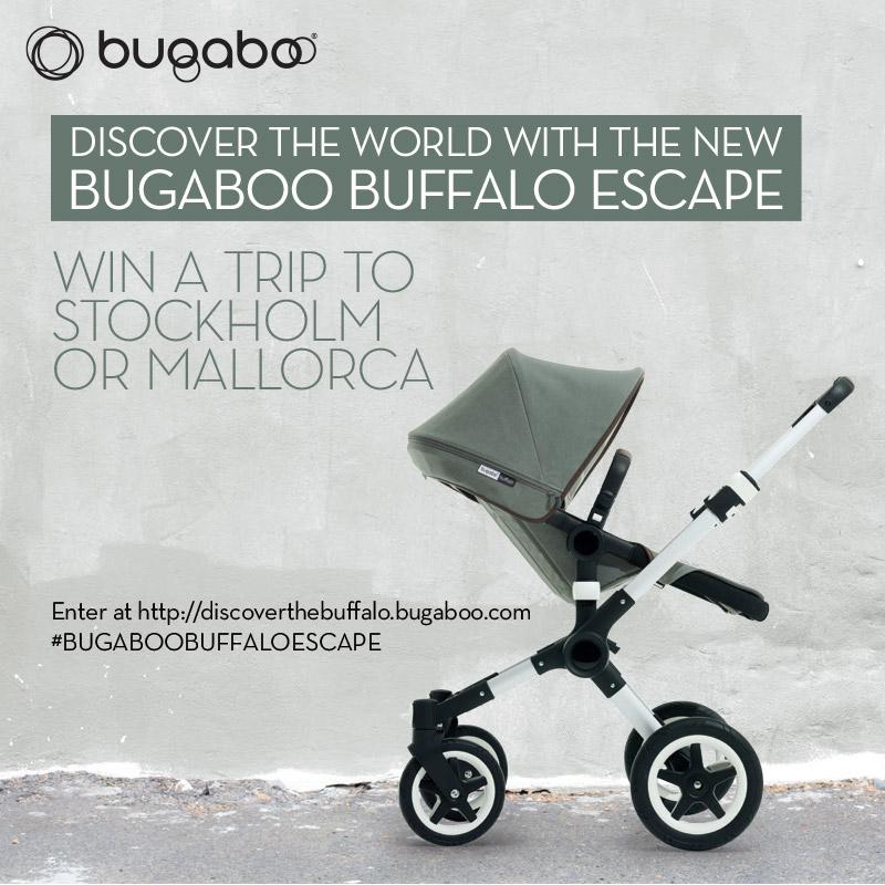 Win a Family Trip with the Bugaboo Buffalo Escape