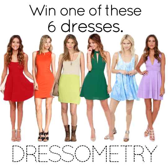 Dressometry Dress Giveaway