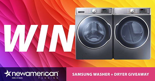 Samsung Washer & Dryer Giveaway